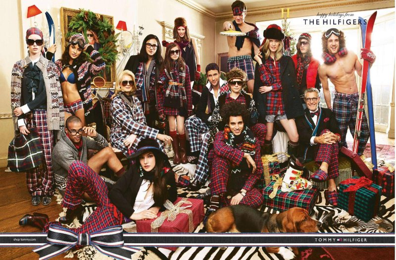 hilfigers Tommy Hilfiger Holiday 2011 Campaign