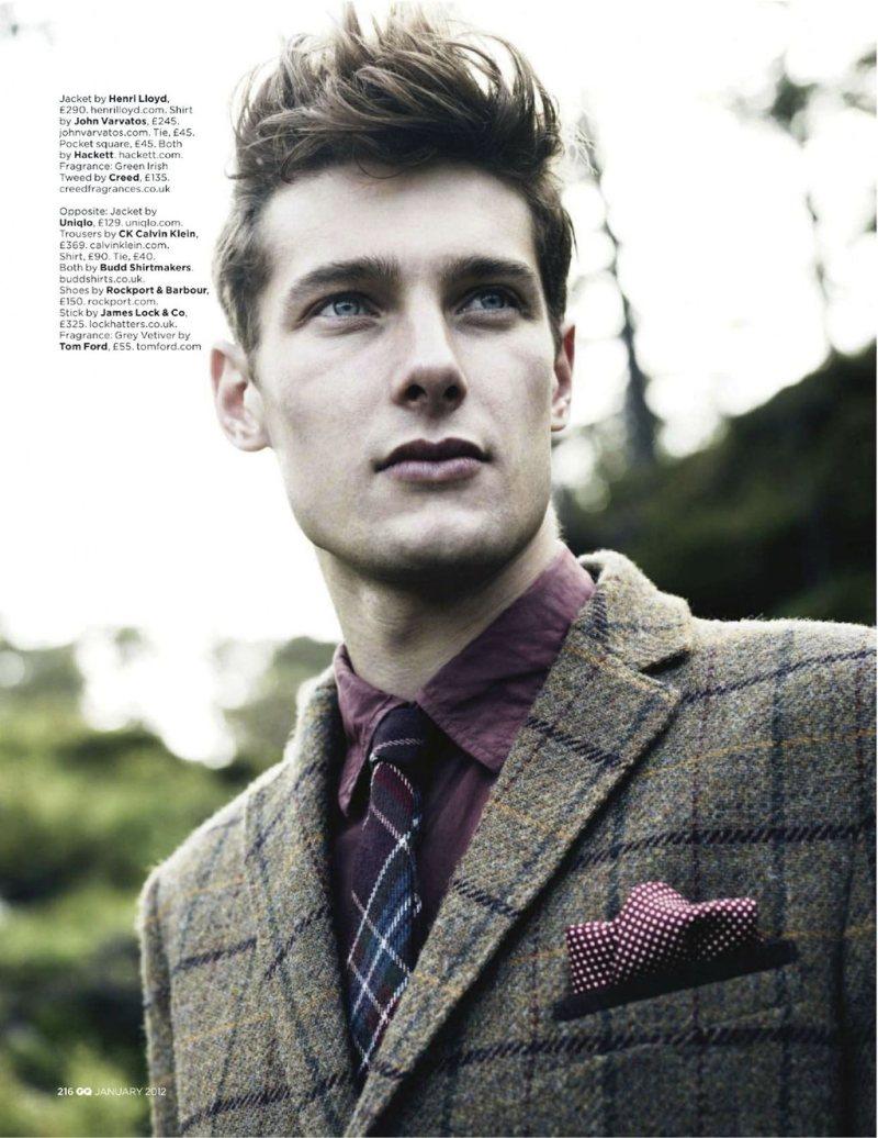 colinandjames1 Colin Dack & James Hampson by Lee Strickland for <em>GQ UK</em> January 2012