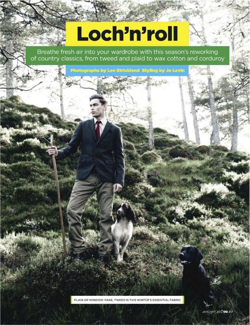 colinandjames10 Colin Dack & James Hampson by Lee Strickland for <em>GQ UK</em> January 2012