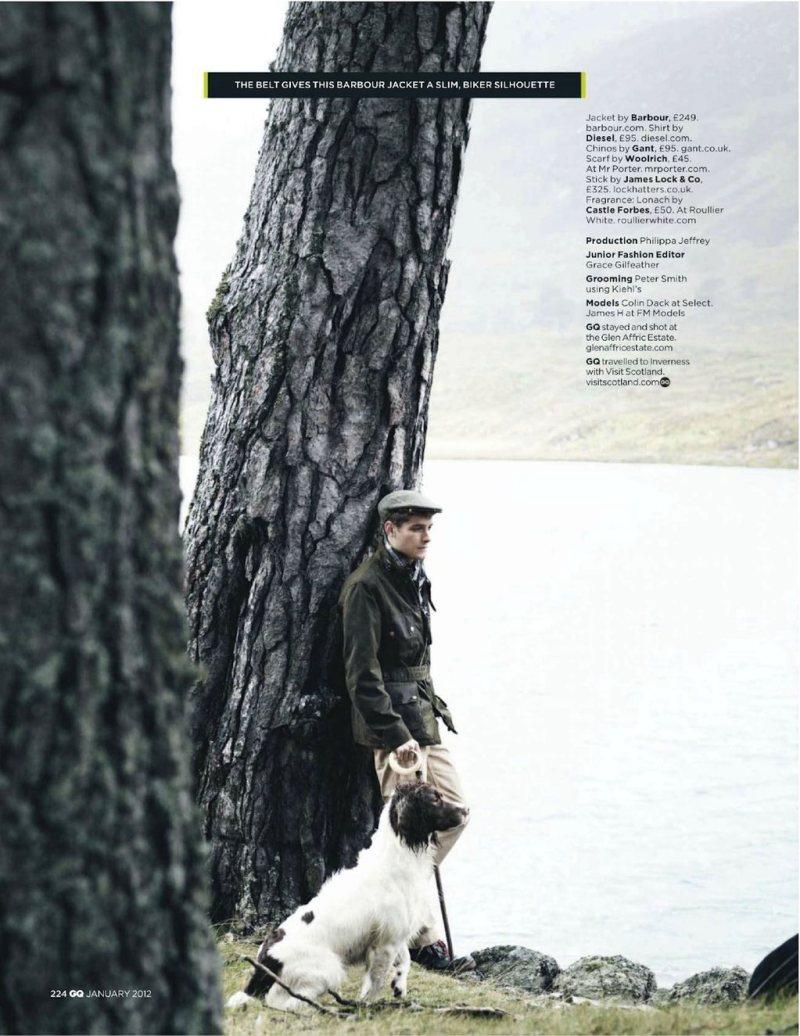 colinandjames3 Colin Dack & James Hampson by Lee Strickland for <em>GQ UK</em> January 2012