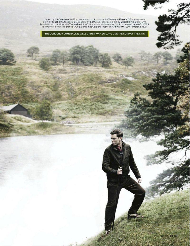 colinandjames4 Colin Dack & James Hampson by Lee Strickland for <em>GQ UK</em> January 2012