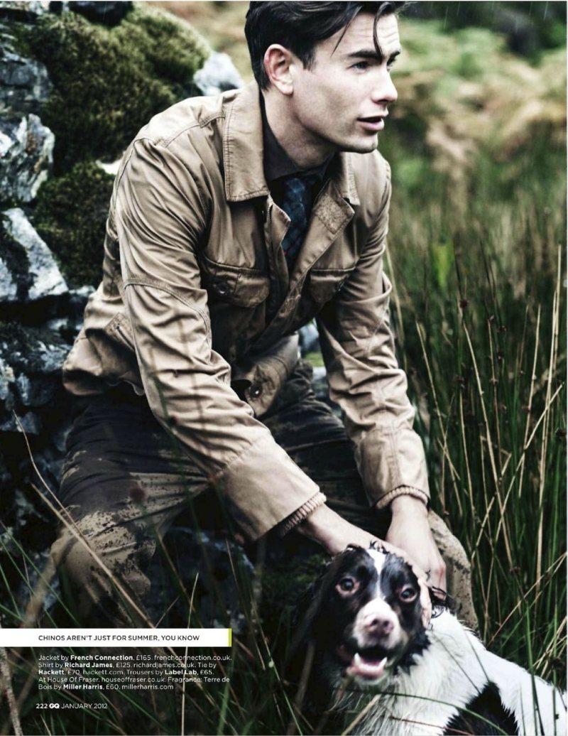 colinandjames5 Colin Dack & James Hampson by Lee Strickland for <em>GQ UK</em> January 2012