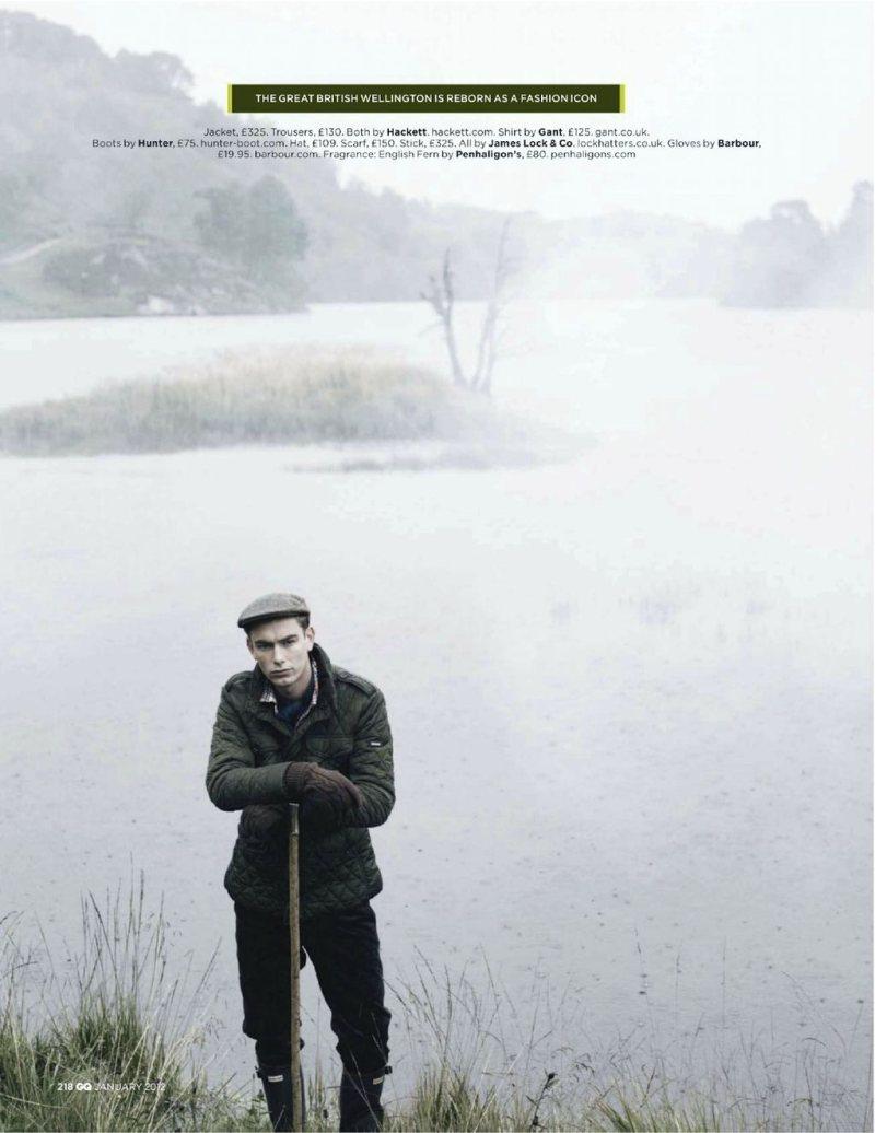 colinandjames9 Colin Dack & James Hampson by Lee Strickland for <em>GQ UK</em> January 2012
