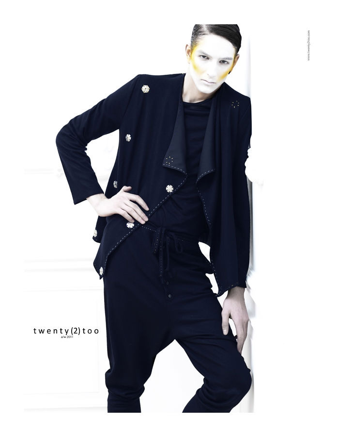 bogdanandkaan11 Kaan Tilki & Bogdan Tudor by Tibi Clenci for Twenty(2)Too Fall 2011 Campaign