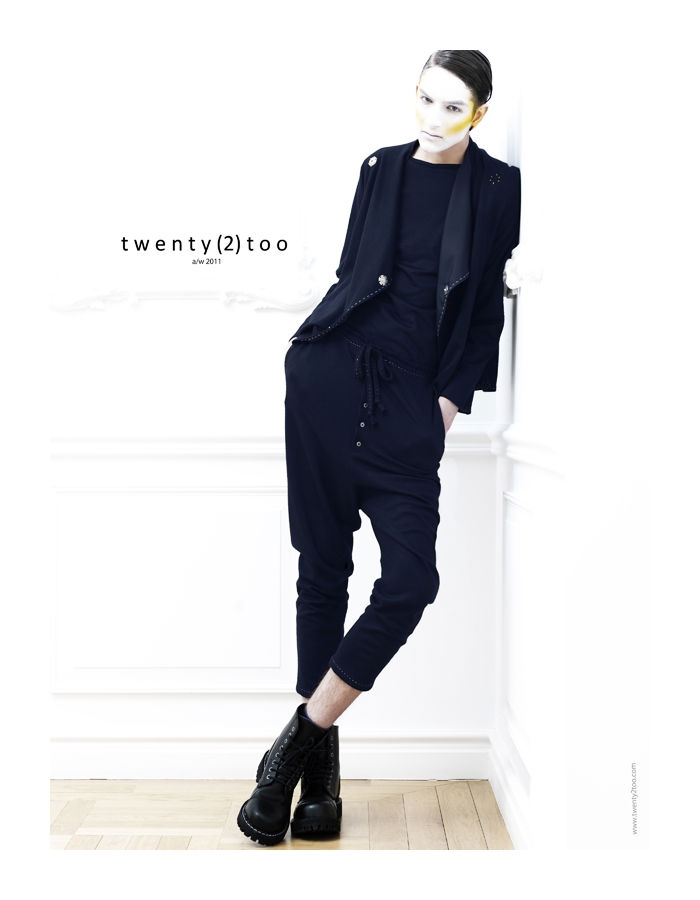 bogdanandkaan12 Kaan Tilki & Bogdan Tudor by Tibi Clenci for Twenty(2)Too Fall 2011 Campaign