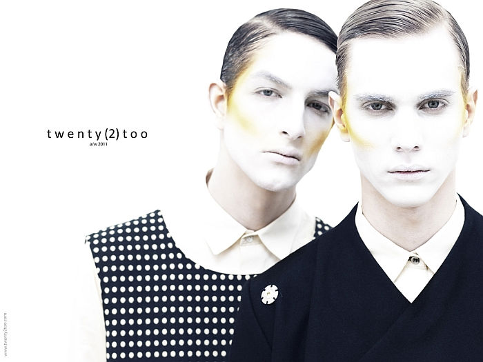 bogdanandkaan2 Kaan Tilki & Bogdan Tudor by Tibi Clenci for Twenty(2)Too Fall 2011 Campaign