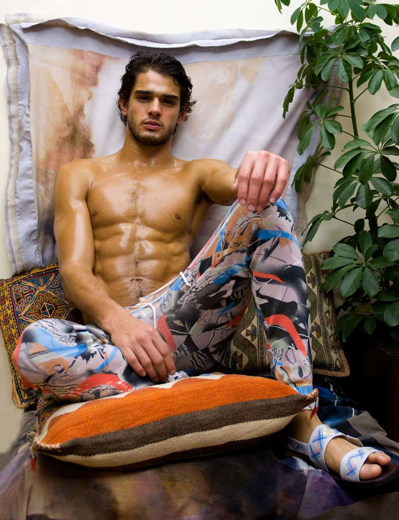 marlonteixeira av4 Marlon Teixeira by Andrea Vecchiato for <em>WE Men</em>