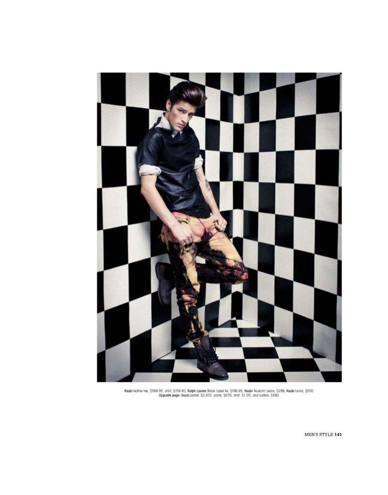andrewandvinnie10 Andrew Smith & Vinnie Woolston by Trevor King for <em>Mens Style Australia</em>