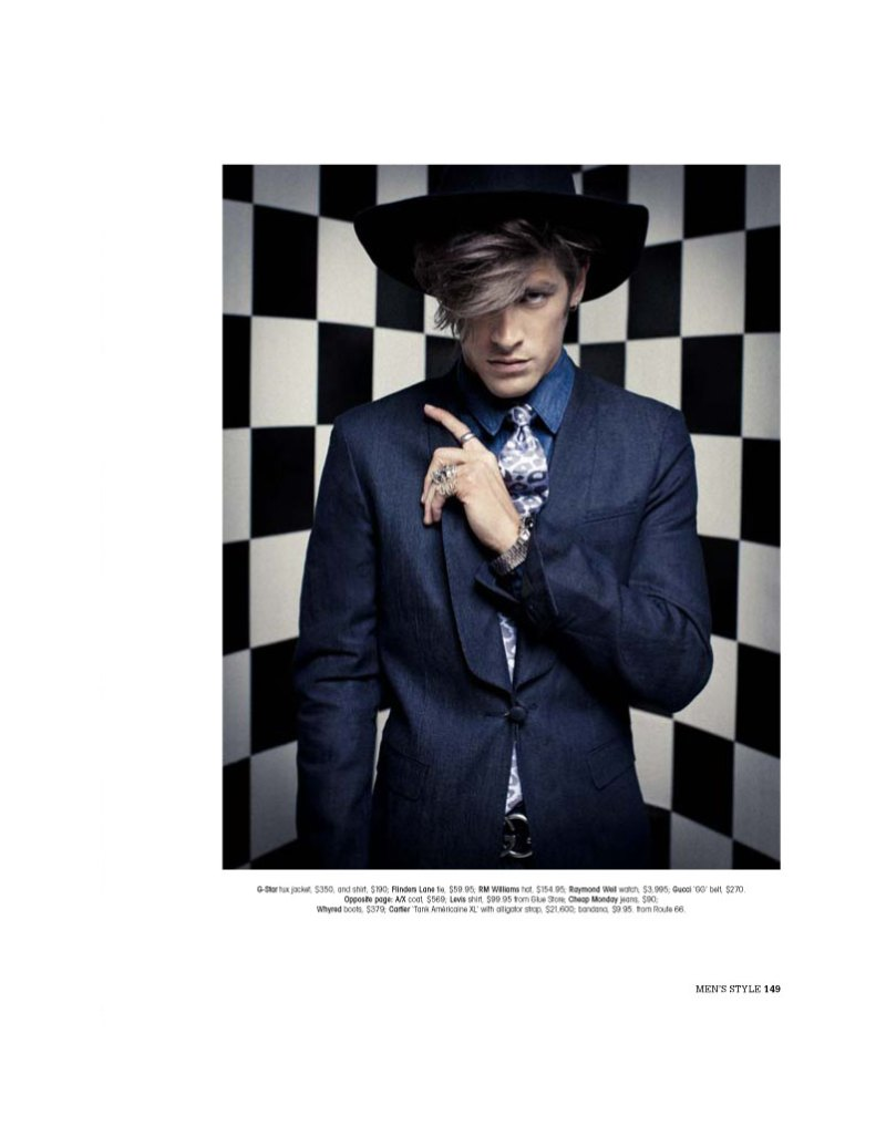 andrewandvinnie2 Andrew Smith & Vinnie Woolston by Trevor King for <em>Mens Style Australia</em>