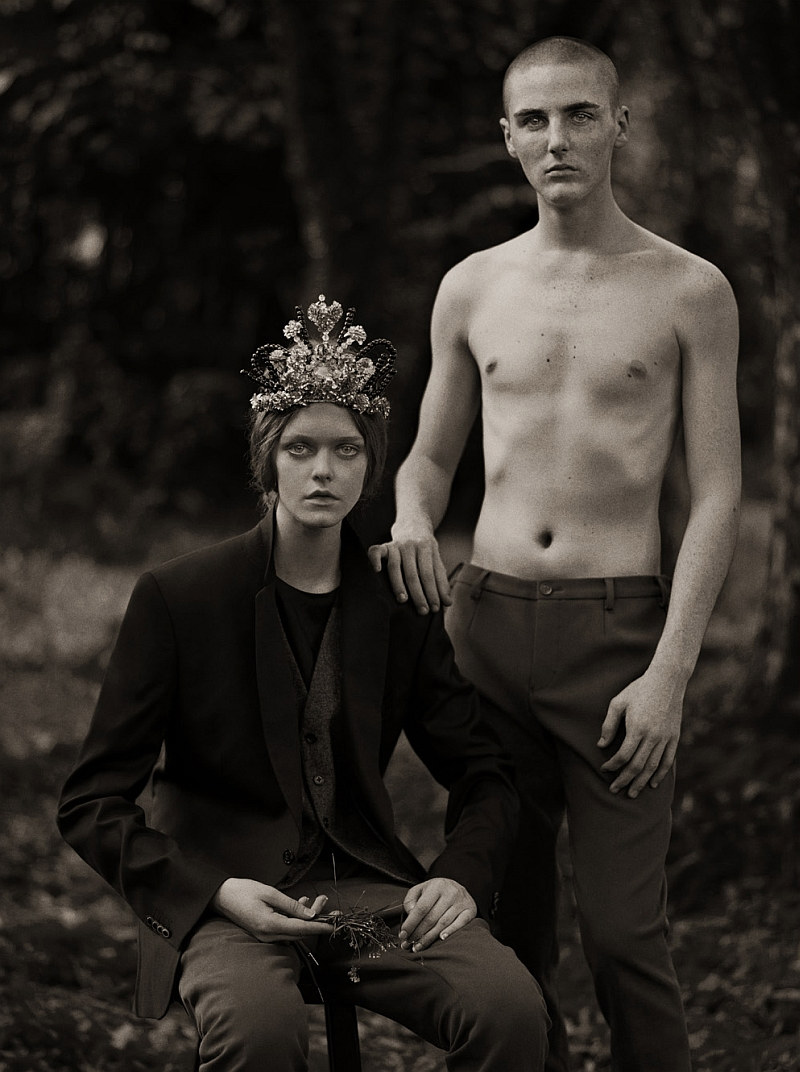 kirillandtom10 Kirill Vasilev & Tom K by Stefan Khoo for <em>Mens Folio</em>