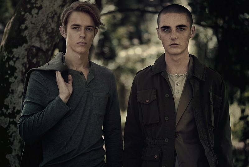kirillandtom2 Kirill Vasilev & Tom K by Stefan Khoo for <em>Mens Folio</em>