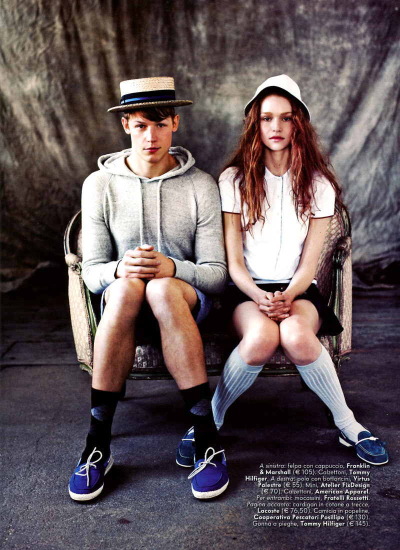 ryankoning3 Ryan Koning & Lasse Pedersen by Chris Craymer for <em>Vanity Fair Italia</em>