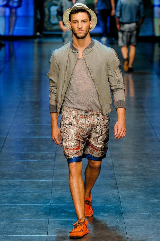 dgrunway10 D&G Spring 2012   Milan Fashion Week