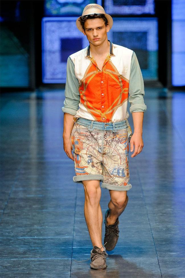 dgrunway2 D&G Spring 2012   Milan Fashion Week