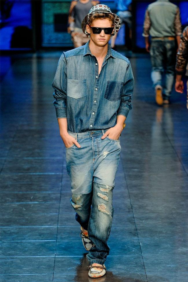 dgrunway9 D&G Spring 2012   Milan Fashion Week