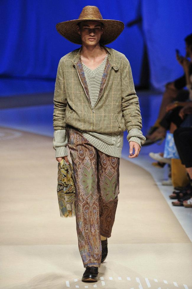 etro46 Milan Fashion Week Spring 2012: Day 3