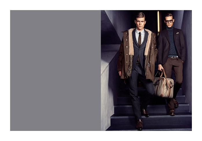 guccifall2 Gen Huisman & Nikola Jovanovic for Gucci Fall 2011