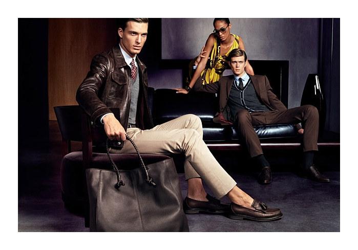 guccifall3 Gen Huisman & Nikola Jovanovic for Gucci Fall 2011