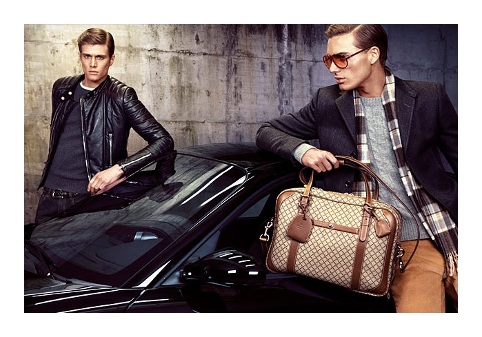 guccifall5 Gen Huisman & Nikola Jovanovic for Gucci Fall 2011