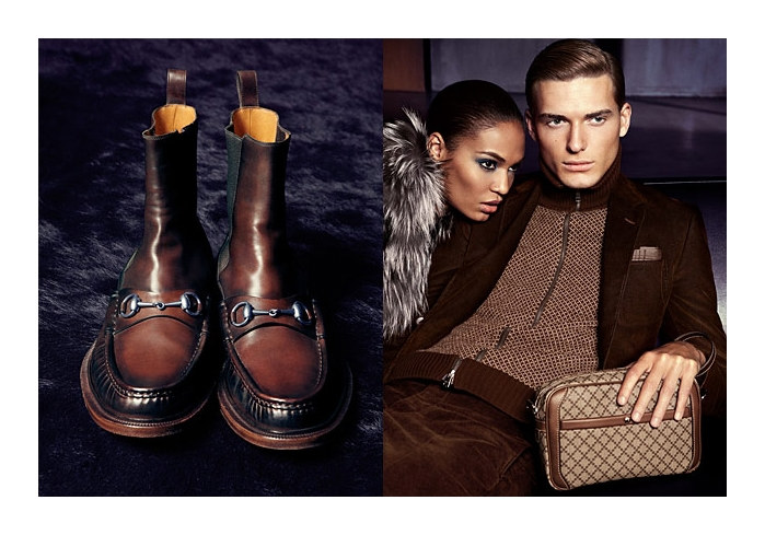 guccifall6 Gen Huisman & Nikola Jovanovic for Gucci Fall 2011