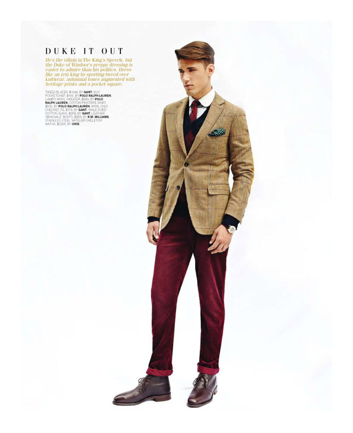 mitchellking2 Mitchell King by Adrian Meako for <em>GQ Australia</em>