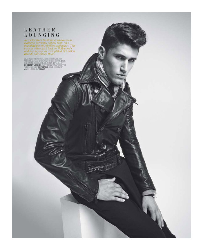 mitchellking3 Mitchell King by Adrian Meako for <em>GQ Australia</em>