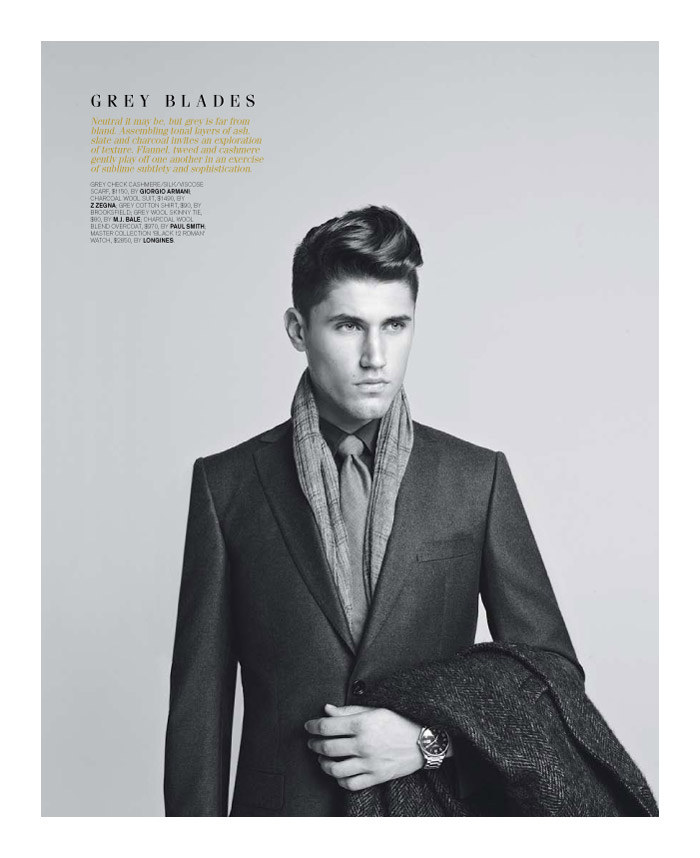 mitchellking4 Mitchell King by Adrian Meako for <em>GQ Australia</em>
