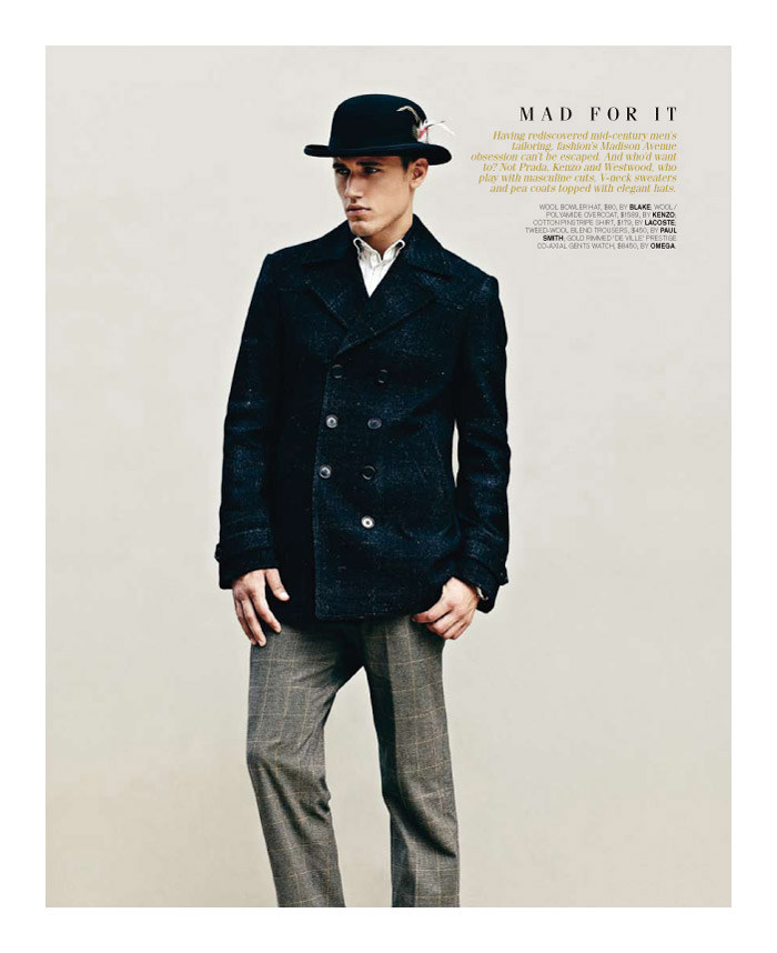 mitchellking6 Mitchell King by Adrian Meako for <em>GQ Australia</em>