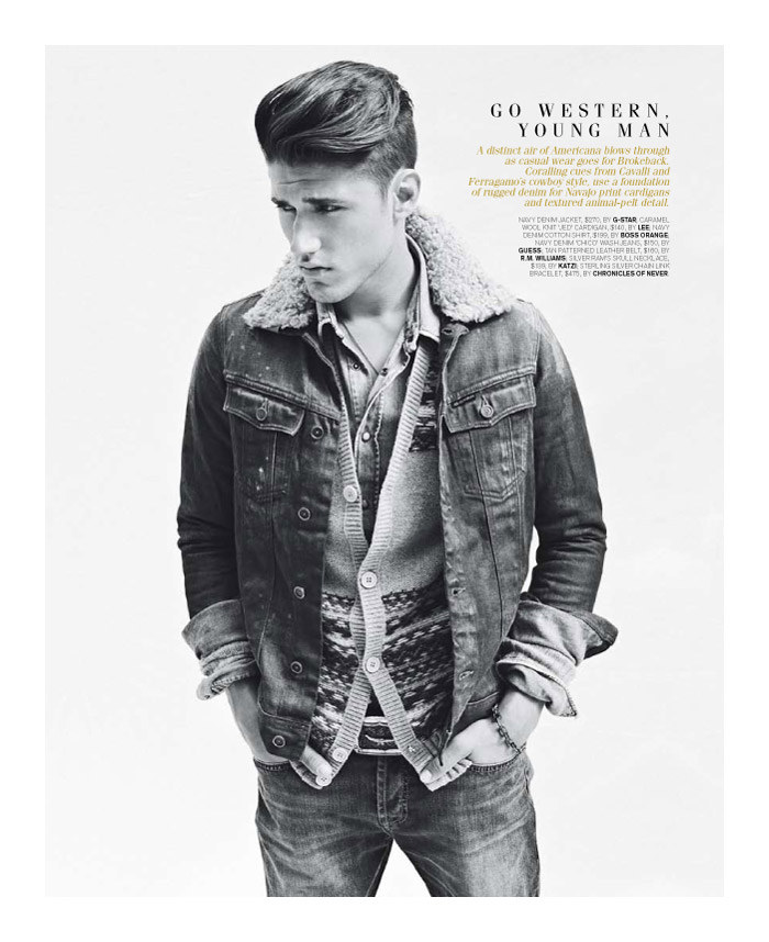 mitchellking8 Mitchell King by Adrian Meako for <em>GQ Australia</em>