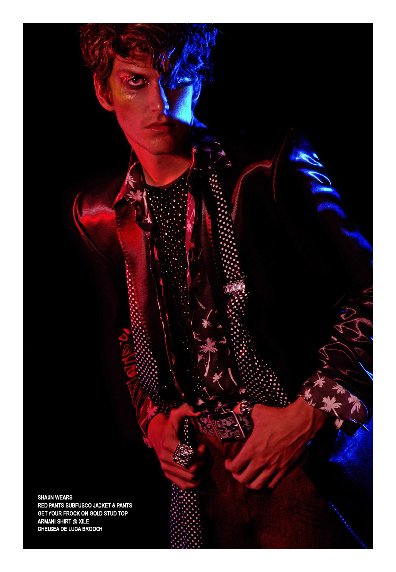 showtime3 Shaun Casey by Thom Kerr for <em>Fashionisto Exclusive</em>