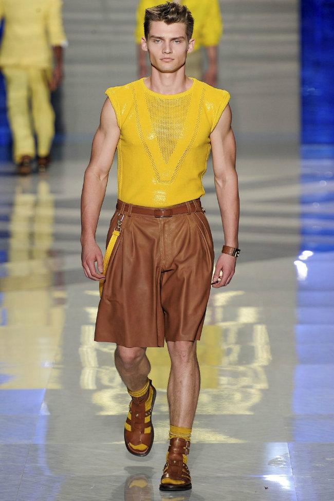 versace29 Milan Fashion Week Spring 2012: Day 3