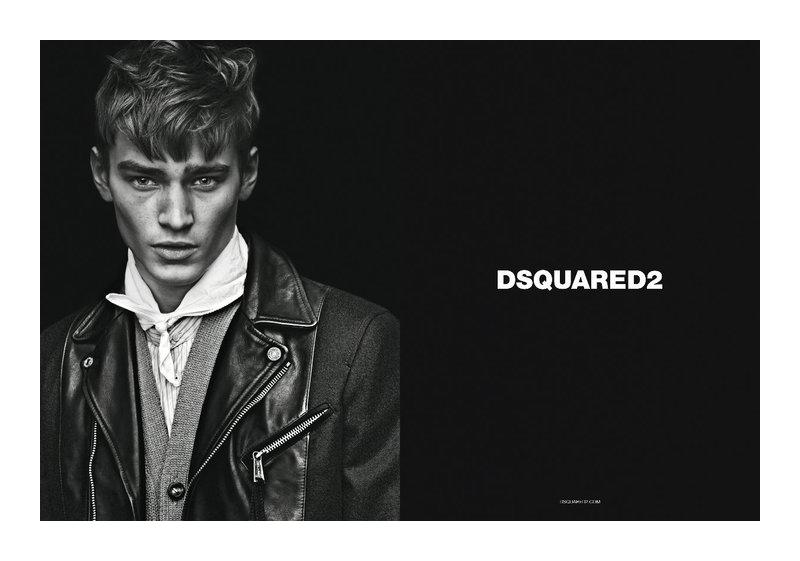dsquaredcampaign2 Adrien Sahores, Bo Develius & Francisco Lachowski by Mert & Marcus for Dsquared² Fall 2011 Campaign