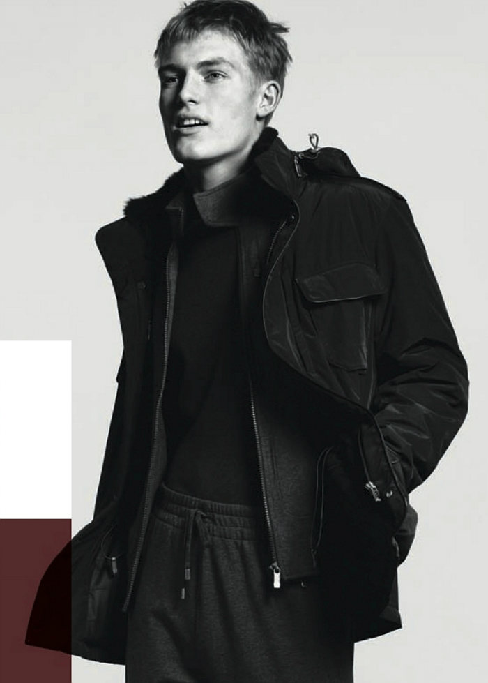 harryg2 Harry Goodwins by David Sims for Zegna Sport Fall 2011 Campaign