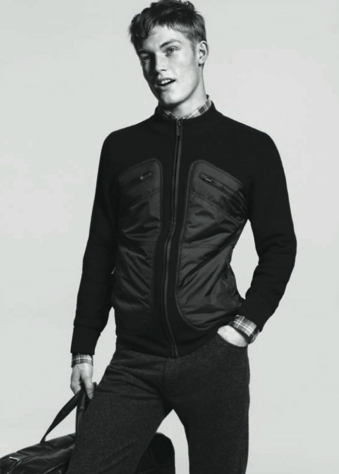 harryg3 Harry Goodwins by David Sims for Zegna Sport Fall 2011 Campaign