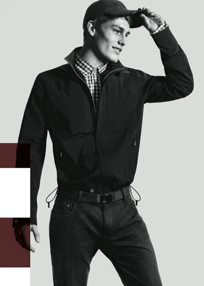 harryg4 Harry Goodwins by David Sims for Zegna Sport Fall 2011 Campaign