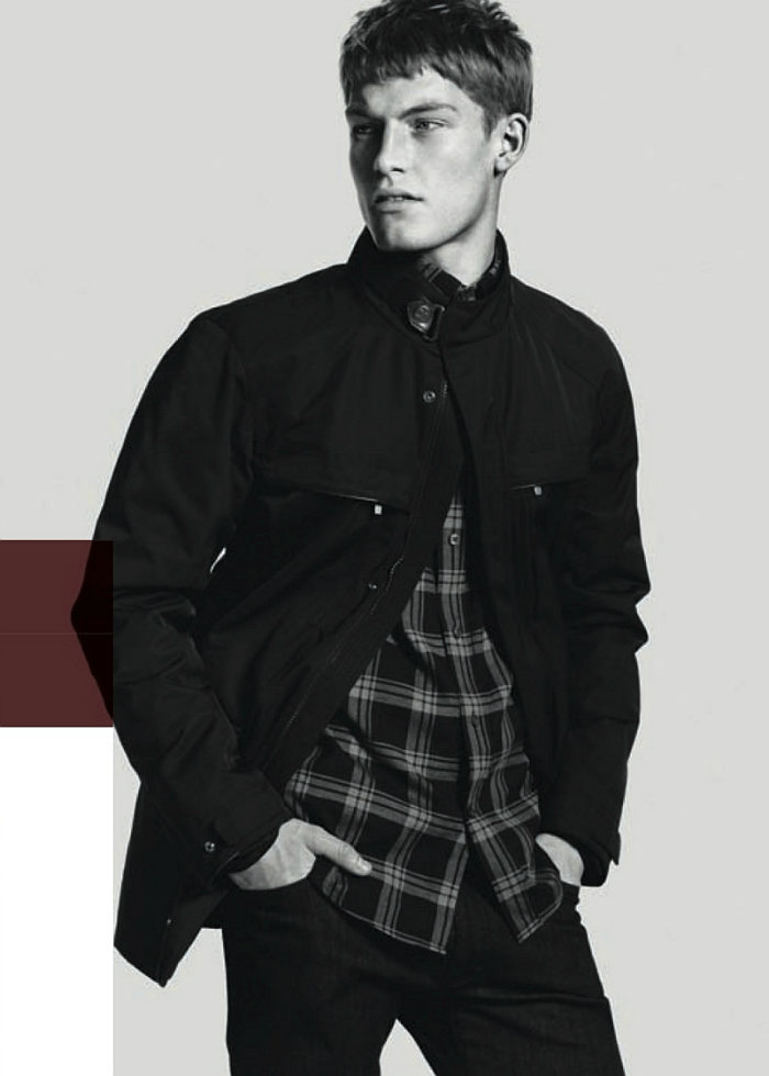 harryg6 Harry Goodwins by David Sims for Zegna Sport Fall 2011 Campaign