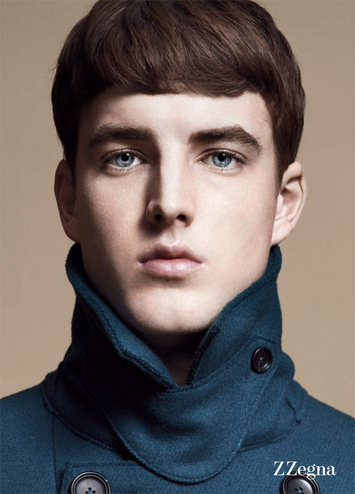 jamessmith zzegna1 James Smith for Z Zegna Fall 2011 Campaign