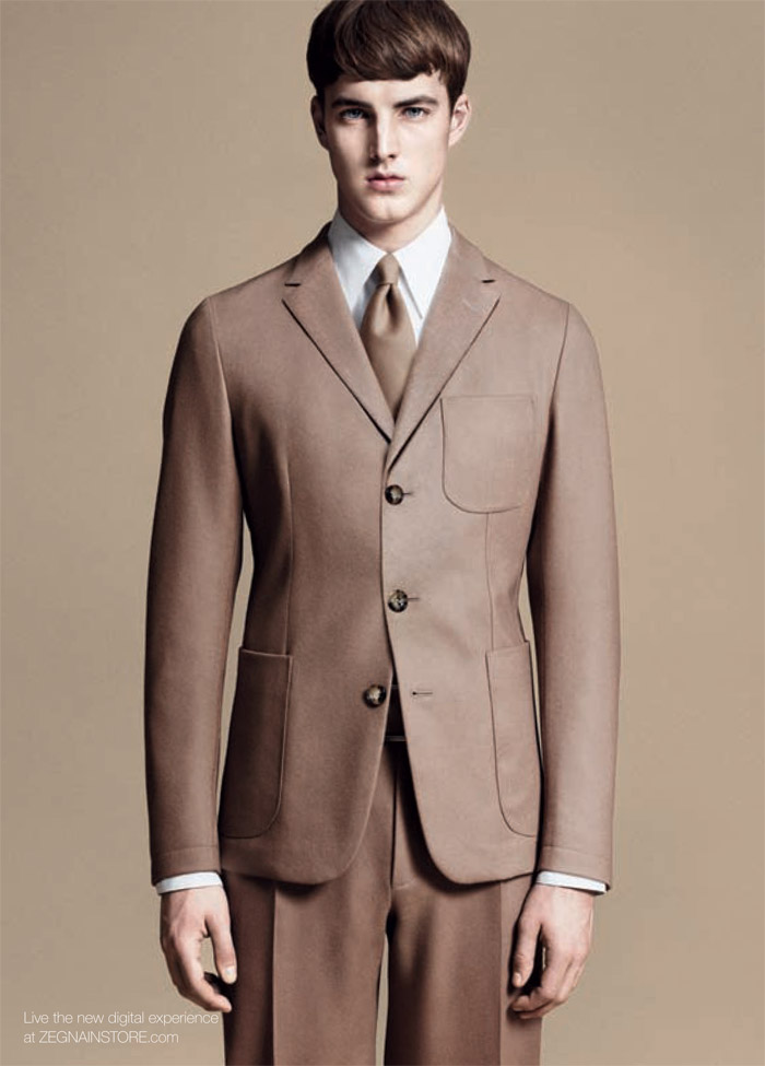 jamessmith zzegna2 James Smith for Z Zegna Fall 2011 Campaign