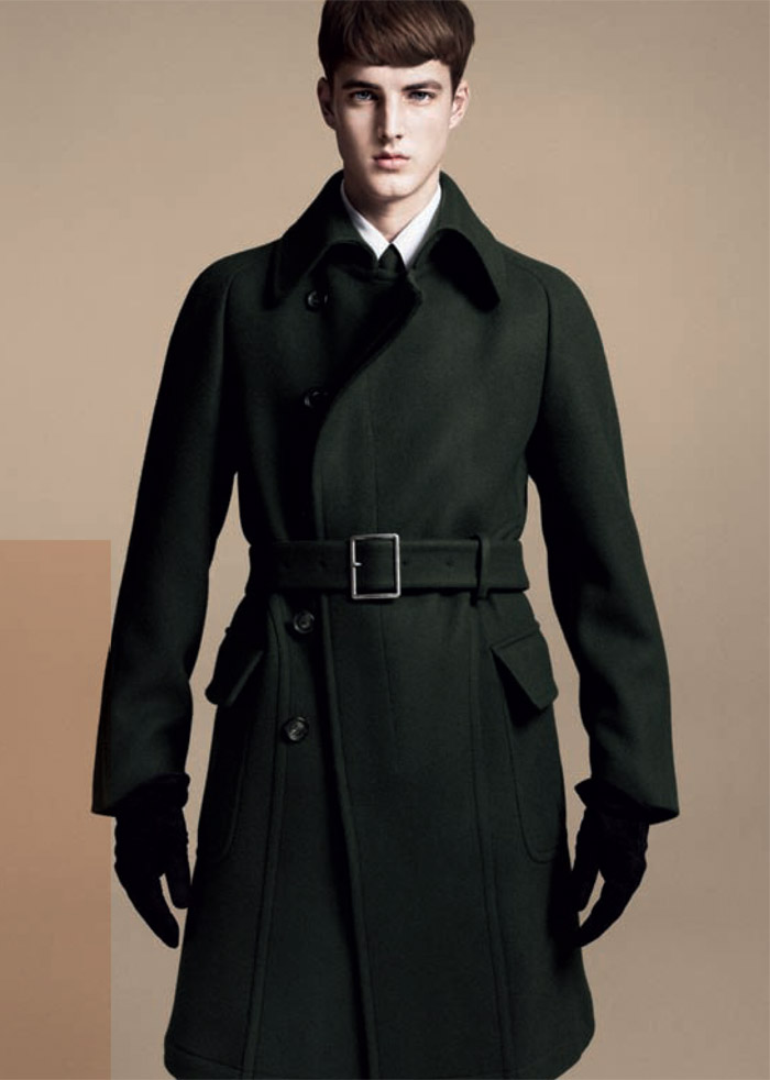 jamessmith zzegna3 James Smith for Z Zegna Fall 2011 Campaign