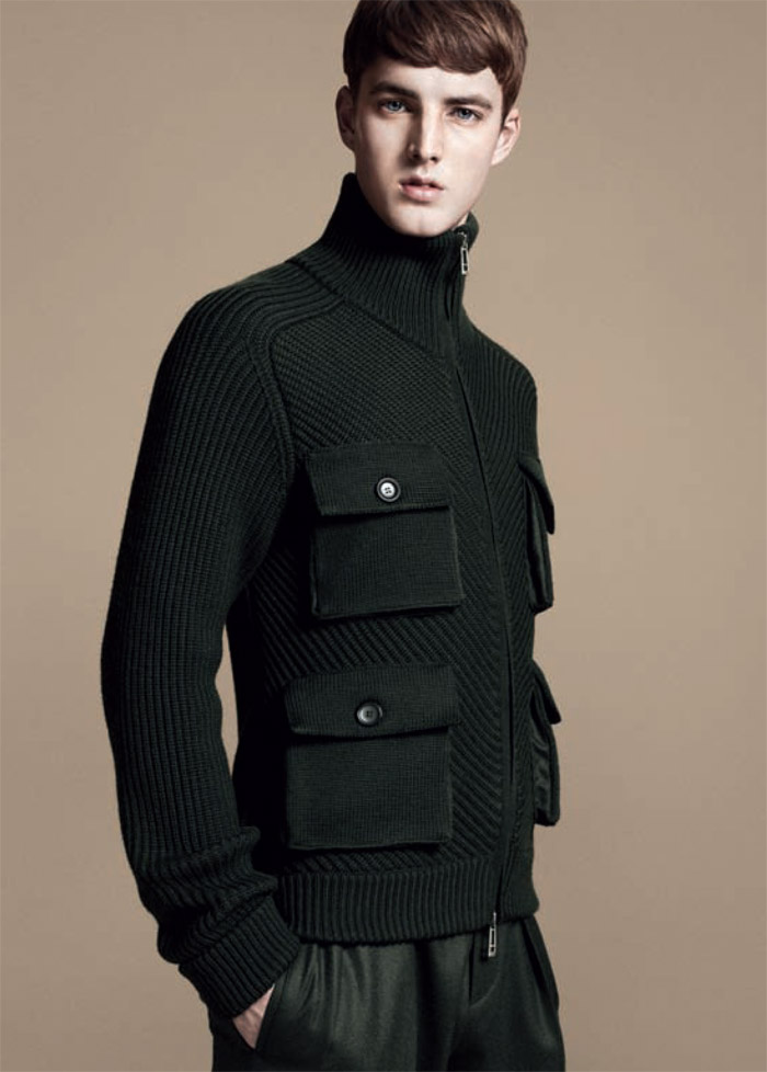 jamessmith zzegna4 James Smith for Z Zegna Fall 2011 Campaign