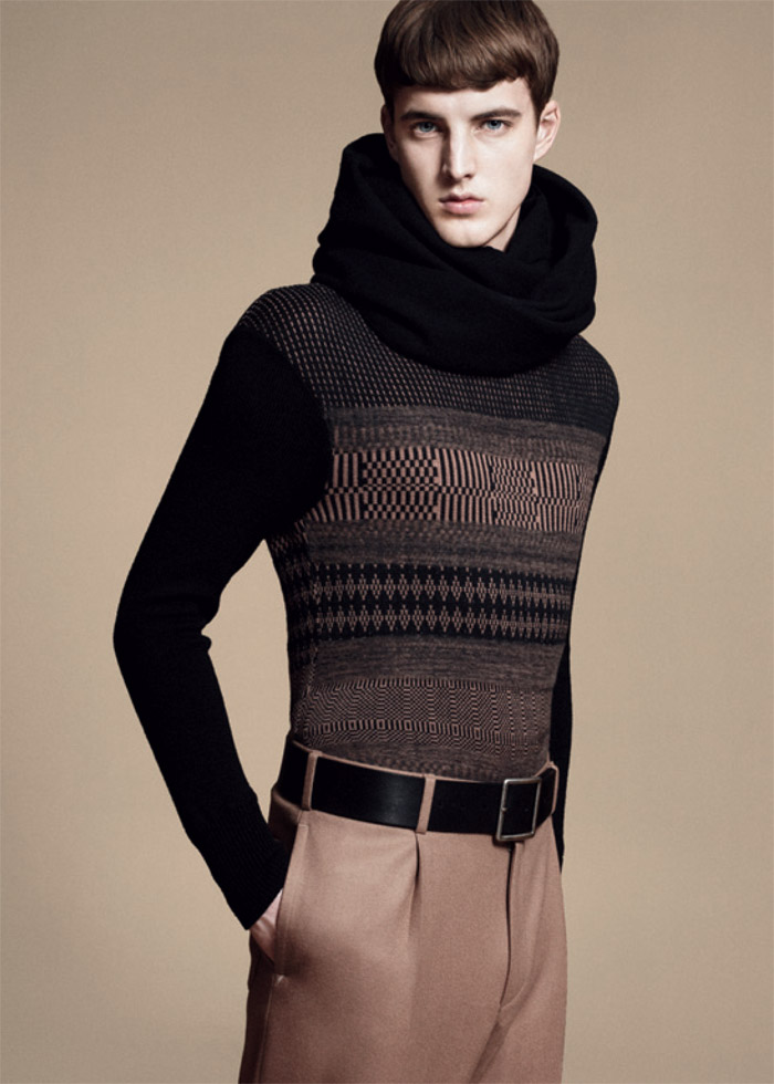 jamessmith zzegna6 James Smith for Z Zegna Fall 2011 Campaign