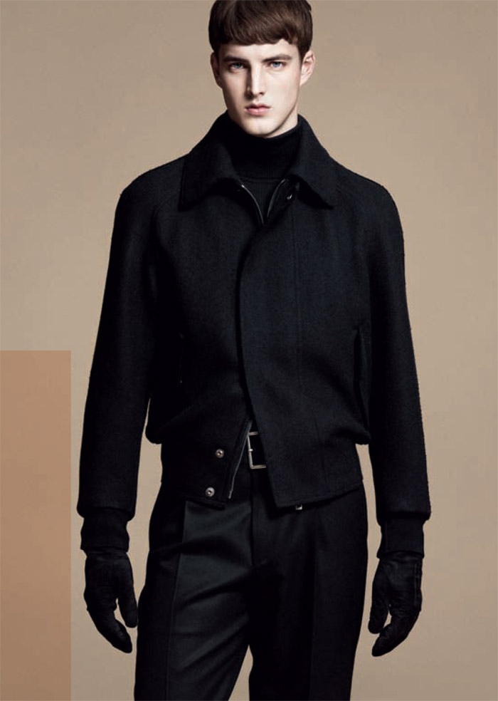 jamessmith zzegna7 James Smith for Z Zegna Fall 2011 Campaign