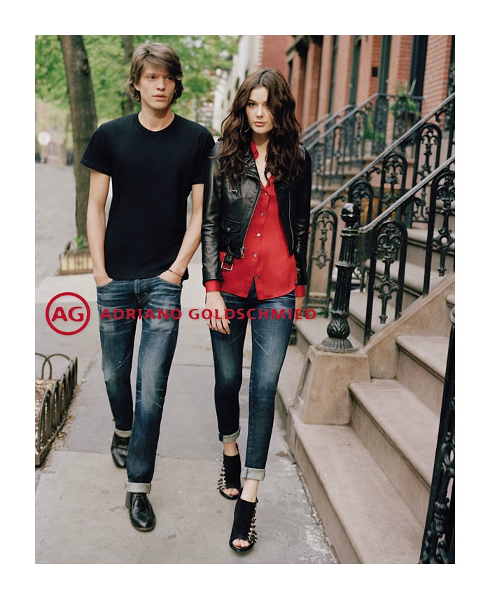 jonatanf2 Jonatan Frenk for AG Jeans Fall 2011 Campaign