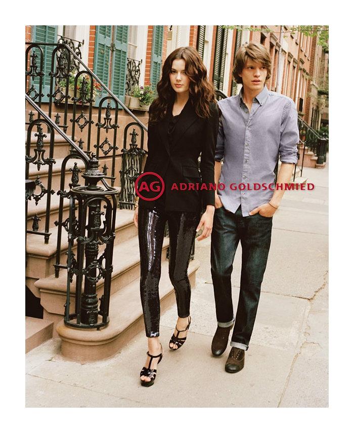 jonatanf4 Jonatan Frenk for AG Jeans Fall 2011 Campaign