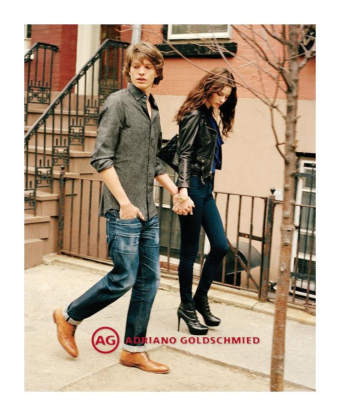 jonatanf5 Jonatan Frenk for AG Jeans Fall 2011 Campaign