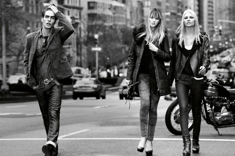 jonk dkny1 Jon Kortajarena by Inez & Vinoodh for DKNY Jeans Fall 2011 Campaign