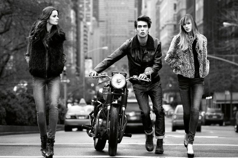 jonk dkny2 Jon Kortajarena by Inez & Vinoodh for DKNY Jeans Fall 2011 Campaign