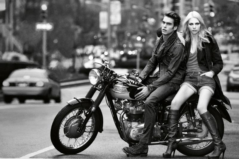 jonk dkny3 Jon Kortajarena by Inez & Vinoodh for DKNY Jeans Fall 2011 Campaign