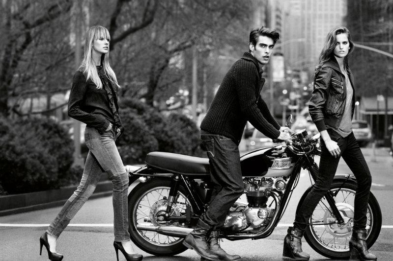 jonk dkny4 Jon Kortajarena by Inez & Vinoodh for DKNY Jeans Fall 2011 Campaign