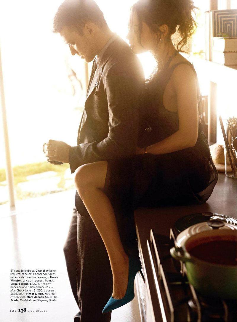 justintimberlake3 Mila Kunis by Carter Smith for <em>Elle US</em> August 2011